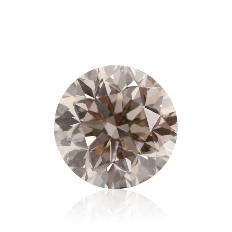 Champagne Round Diamond