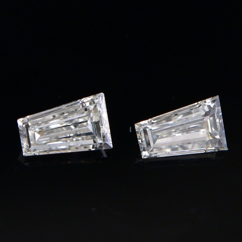 Colorless Taper Diamond