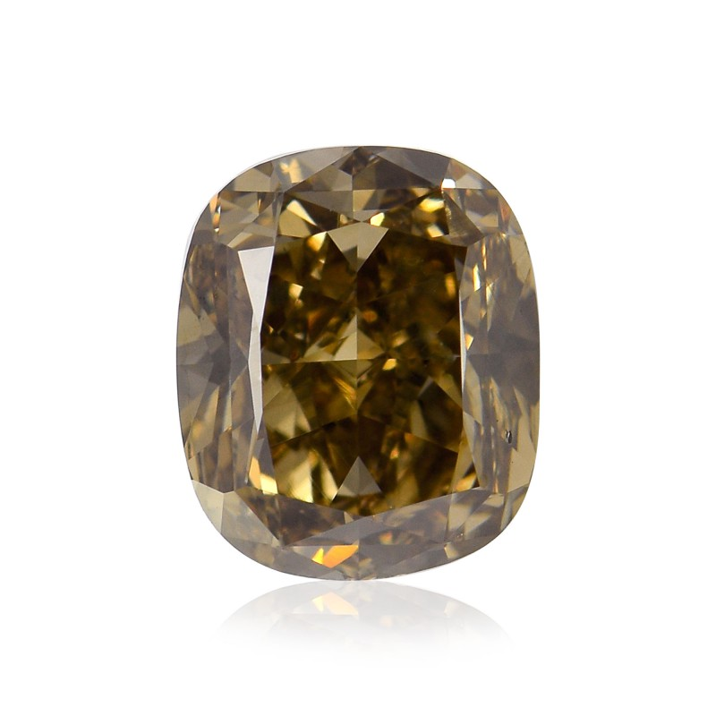 Fancy Dark Yellowish Champagne Diamond