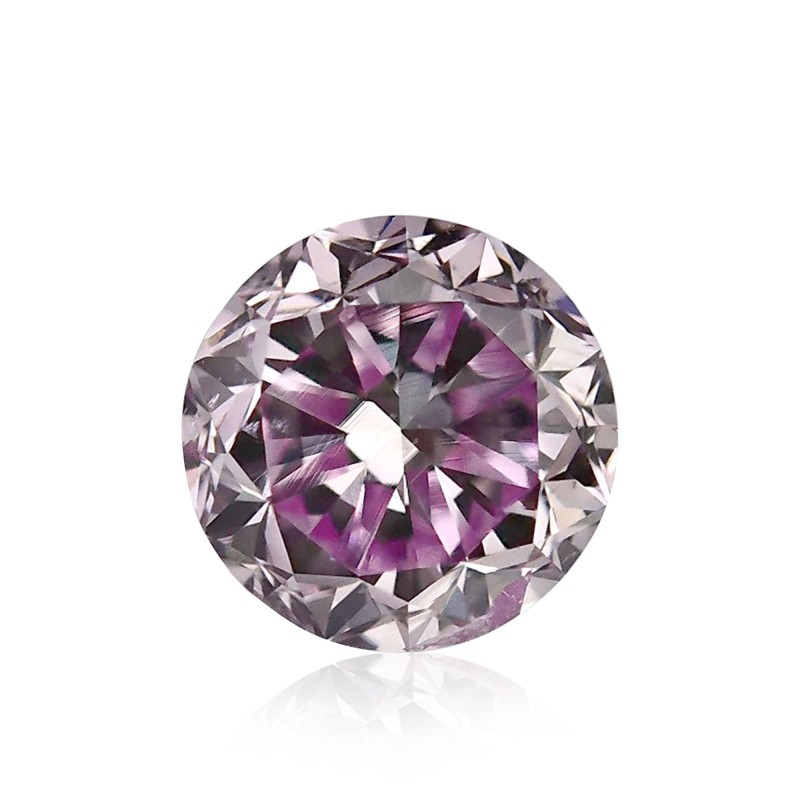 Purple Round Diamond