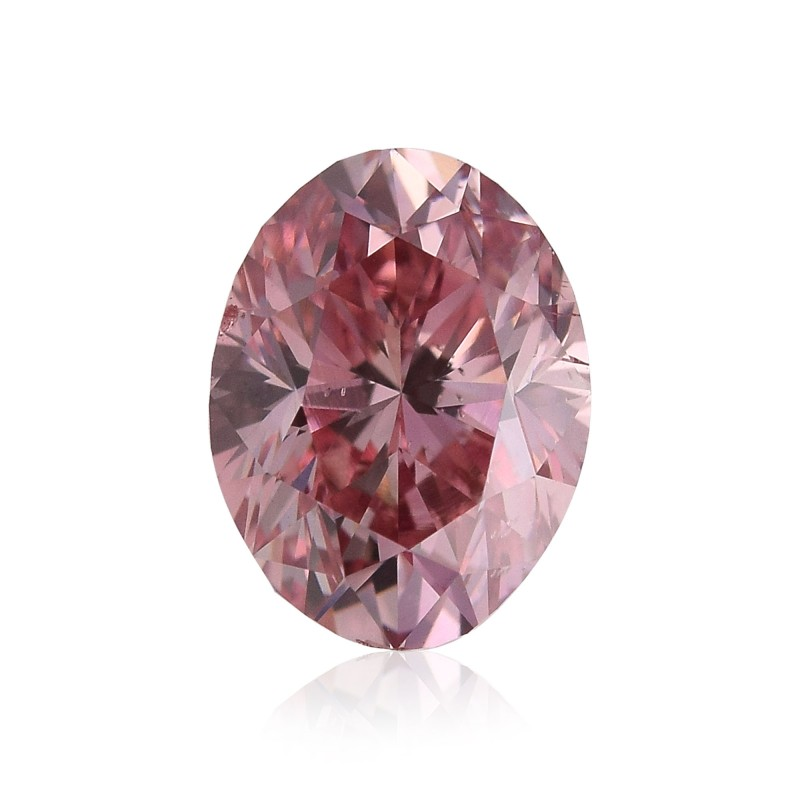 Pink Oval Diamond