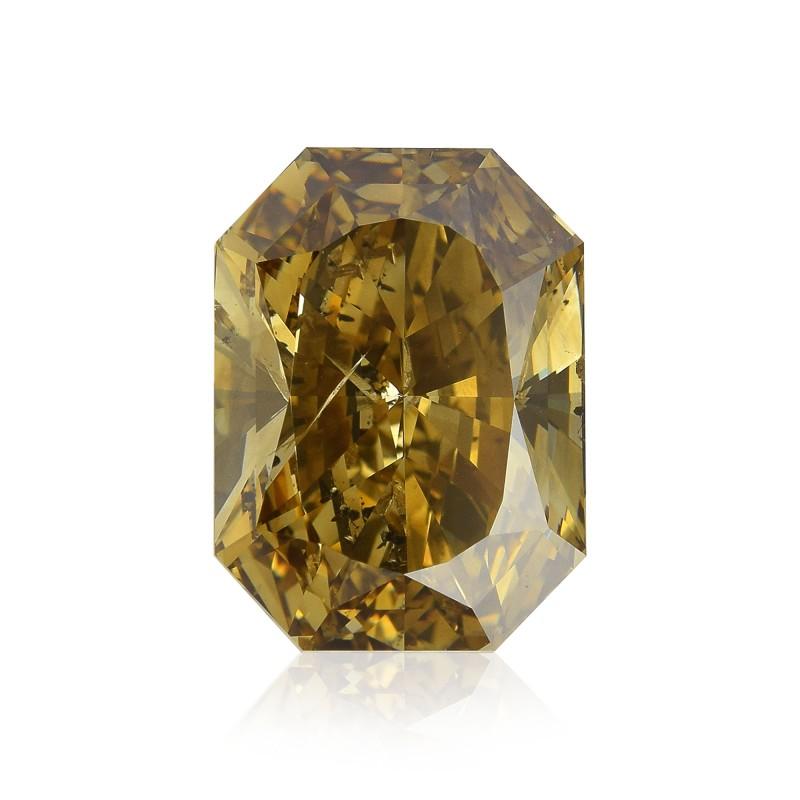 Fancy Dark Brown Yellow Diamond
