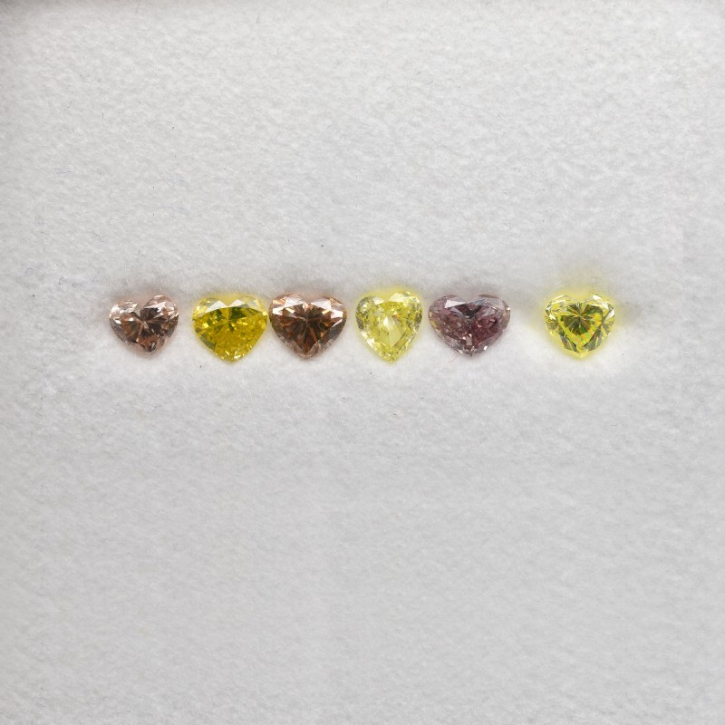 Mix Heart Diamond