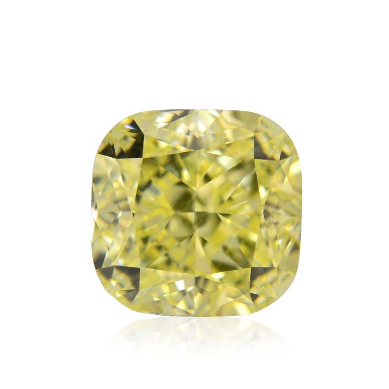 Yellow Cushion Diamond