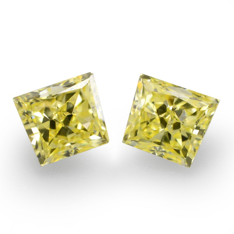 Yellow Trapezoid Diamond