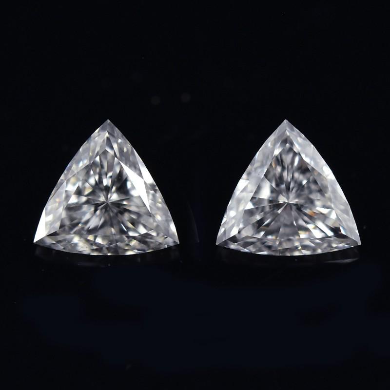 Colorless Trilliant Diamond
