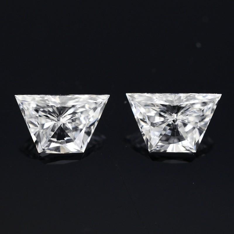 Colorless Trapezoid Diamond