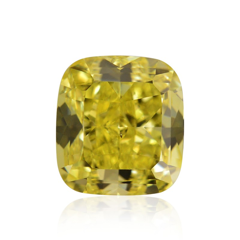 Yellow Cushion Diamond