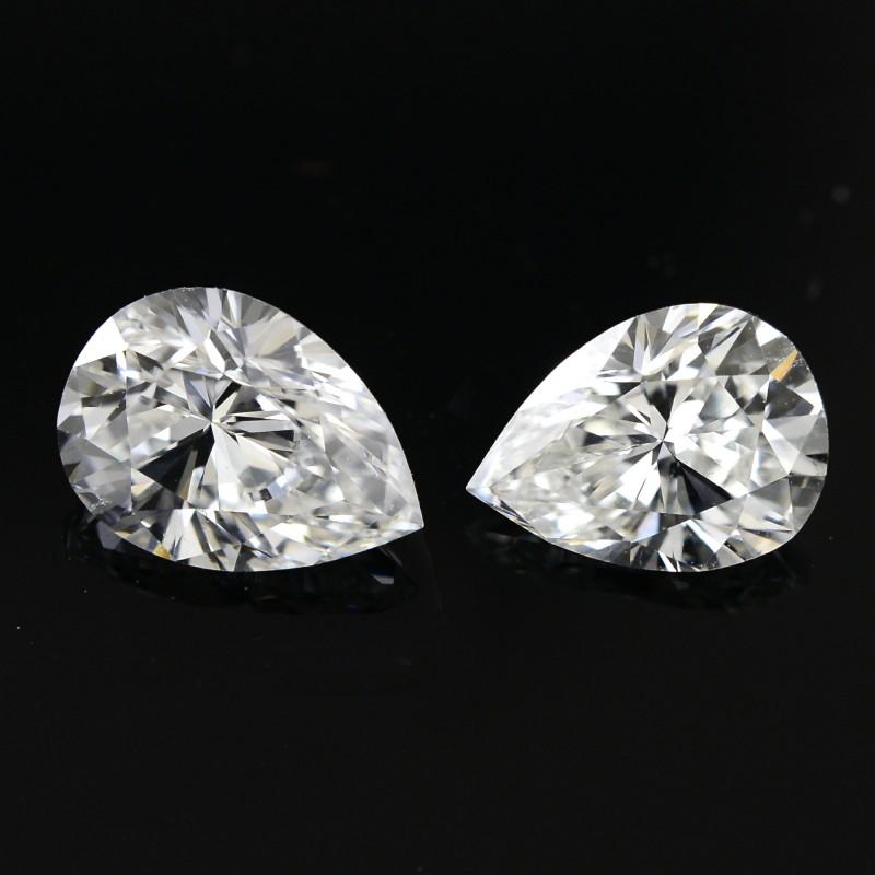 Colorless Pear Diamond