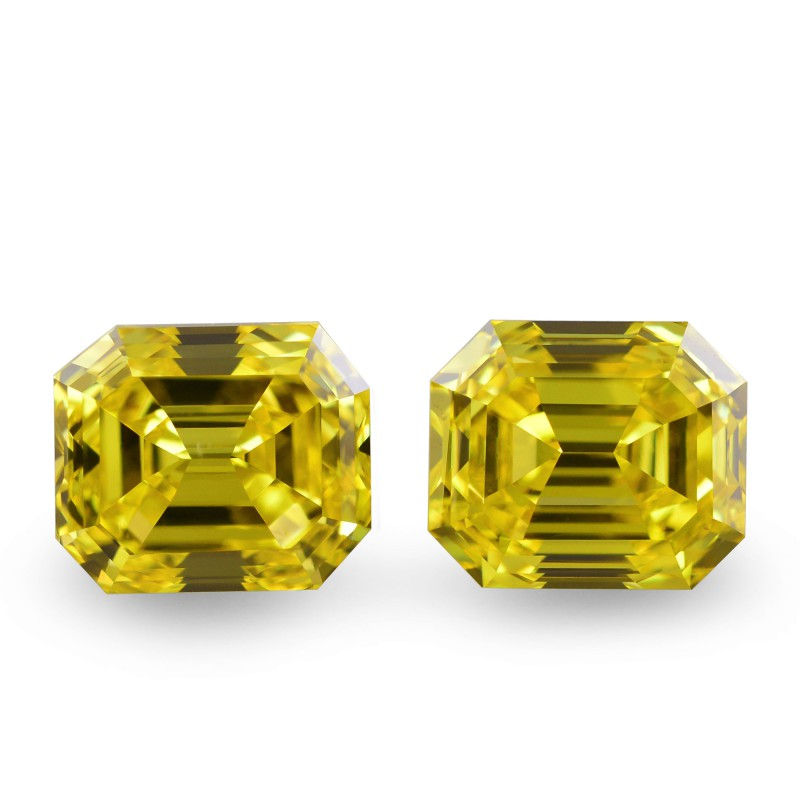 Yellow Emerald Diamond