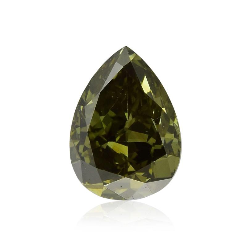 Fancy Deep Gray Yellowish Chameleon Diamond