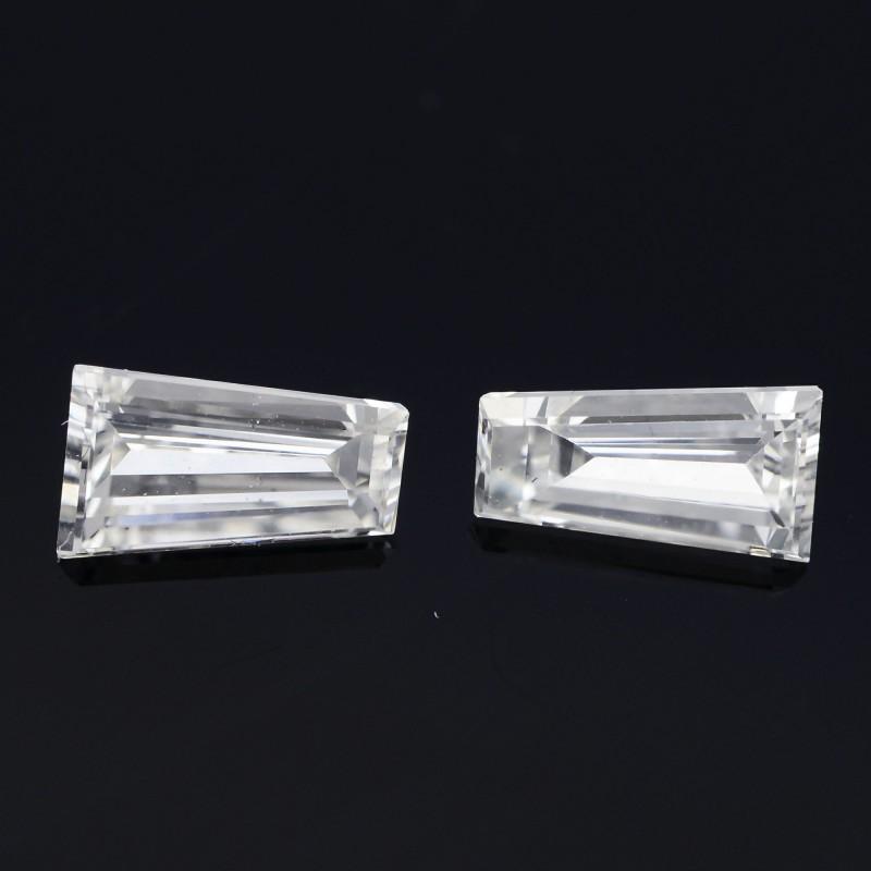 Colorless Taper Diamond