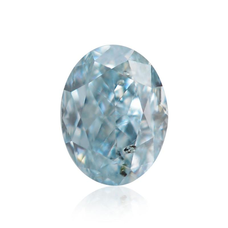Green Oval Diamond