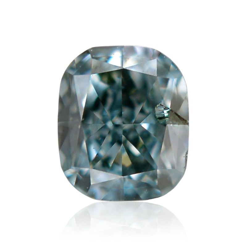 Green Cushion Diamond