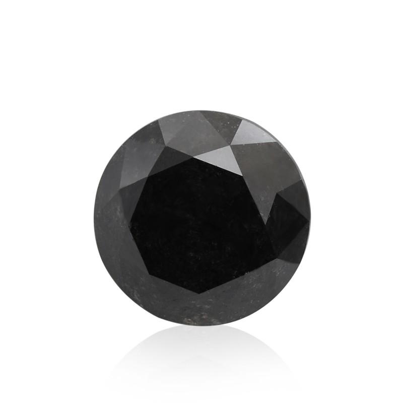 Black Round Diamond