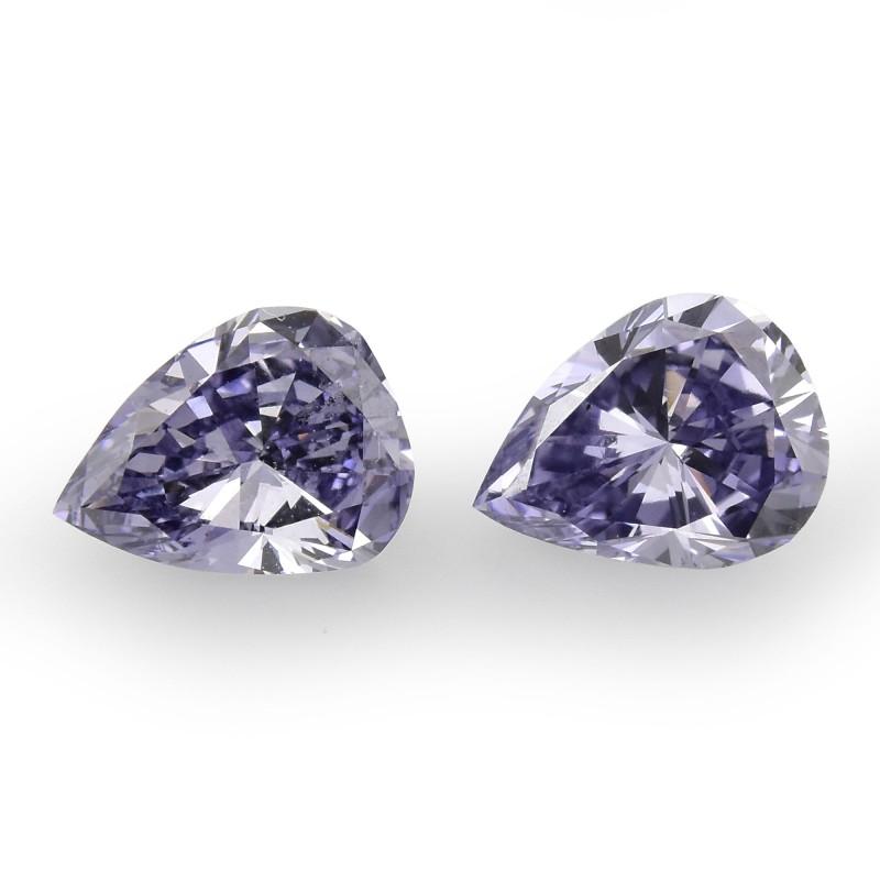 Violet Pear Diamond
