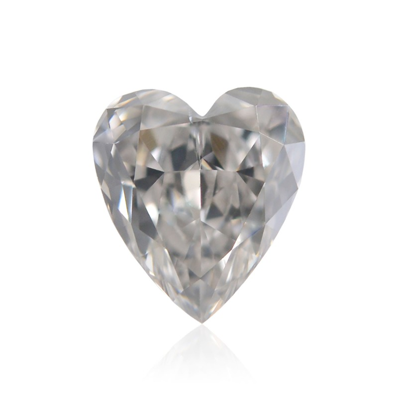 Gray Heart Diamond