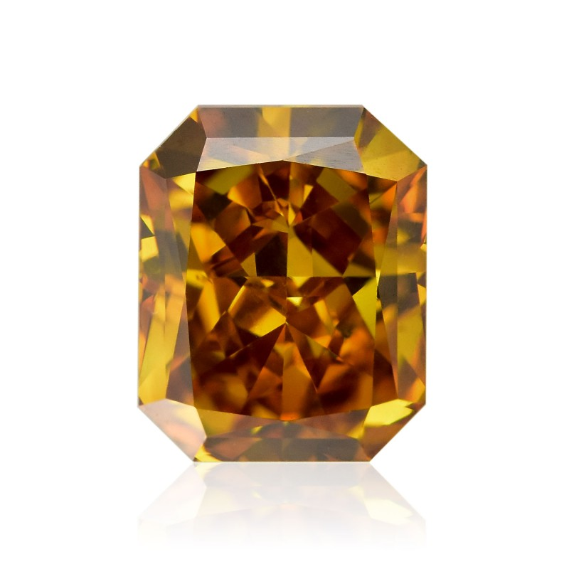 Orange Radiant Diamond