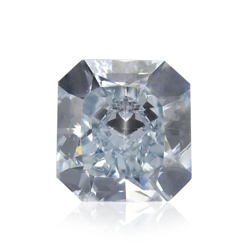 Blue Radiant Diamond