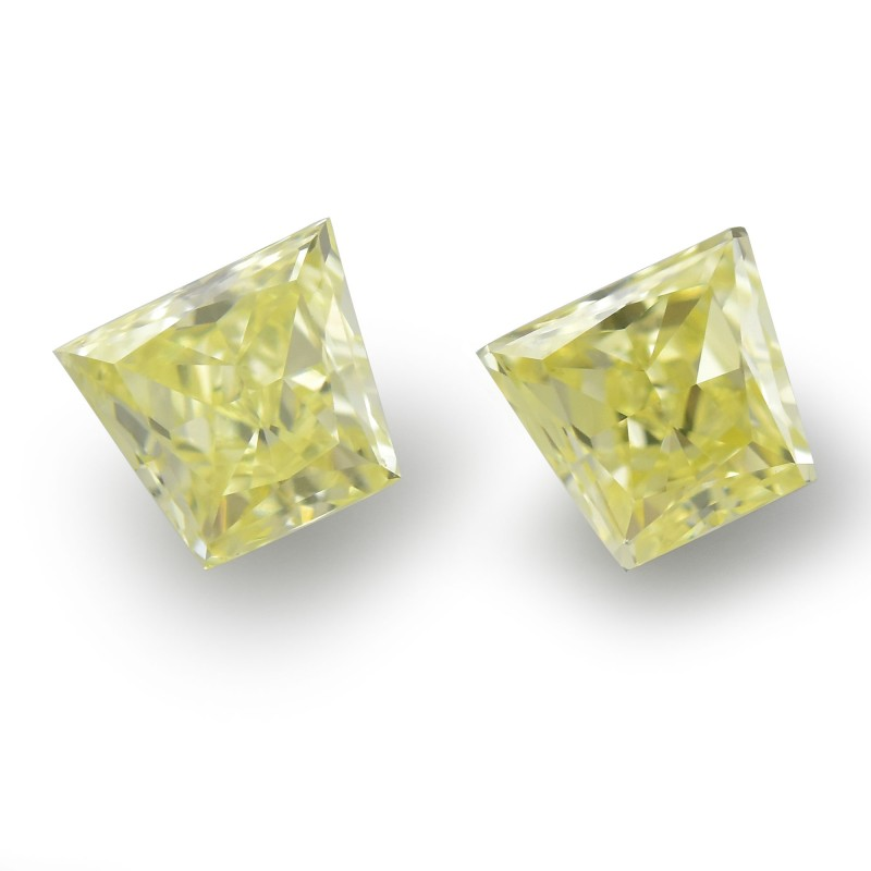 Yellow Trapezoid Diamond