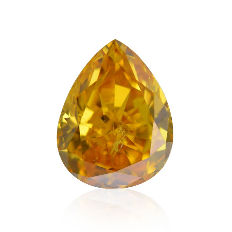 Fancy Intense Yellowish Orange Diamond