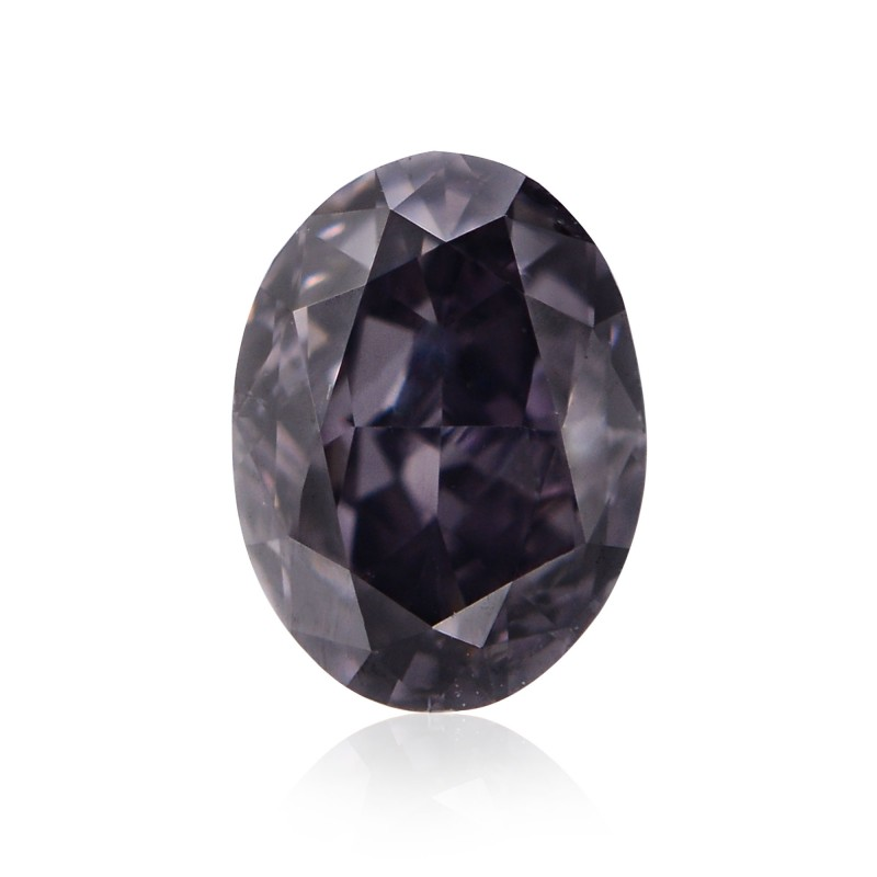 Gray Oval Diamond