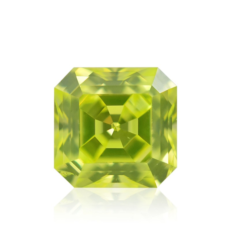 Fancy Intense Green Yellow Diamond