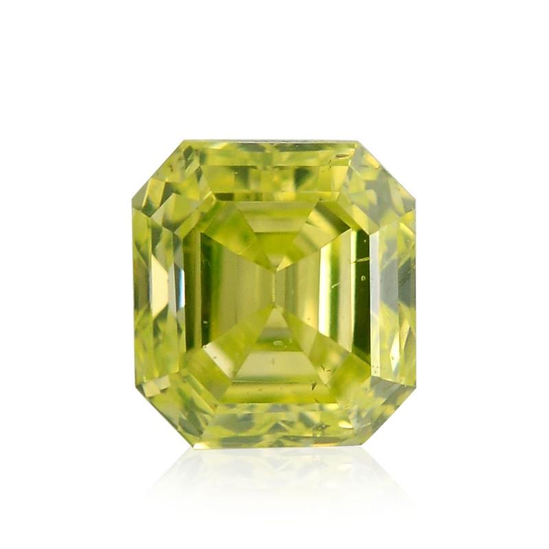 Yellow Emerald Diamond