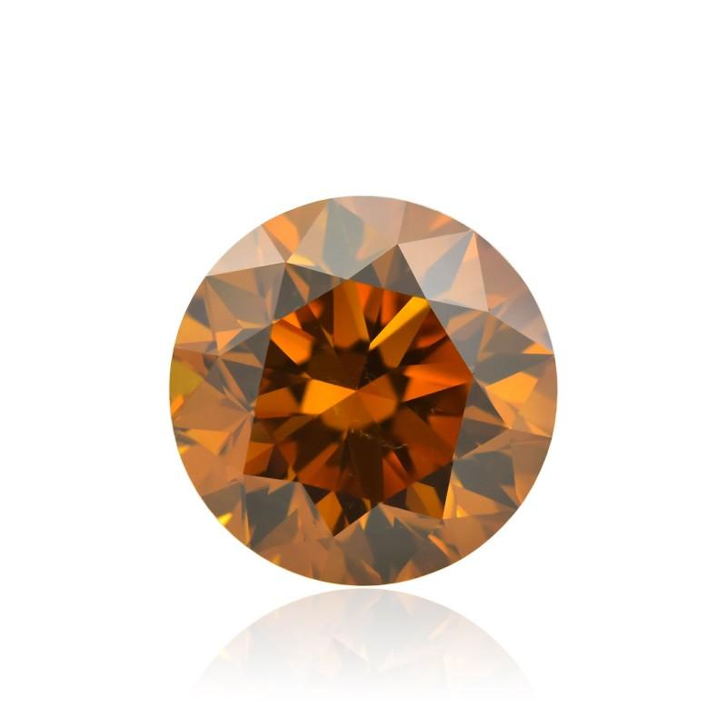 Orange Round Diamond