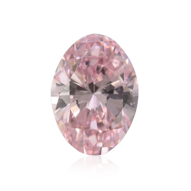 Pink Oval Diamond