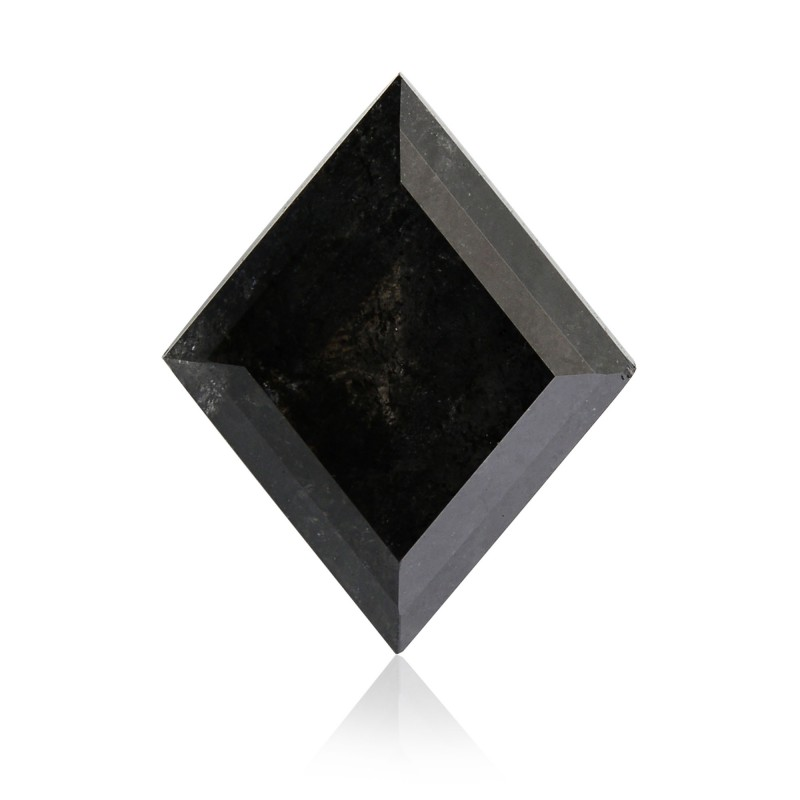 1 50 Carat Fancy Black Diamond Kite Shape Gia Sku 339727