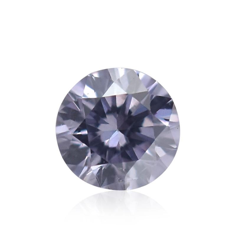 Violet Round Diamond