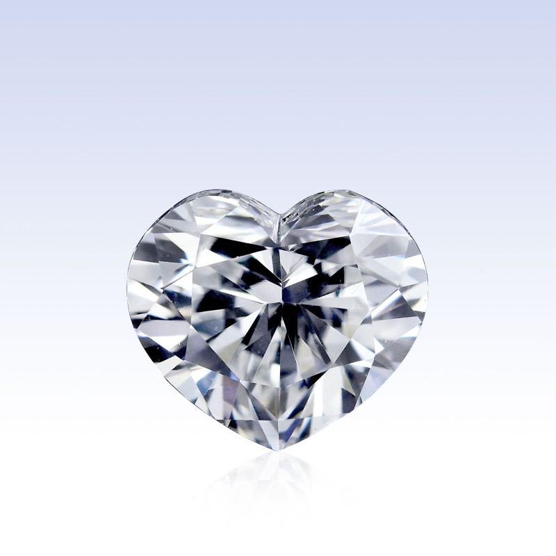Colorless Heart Diamond