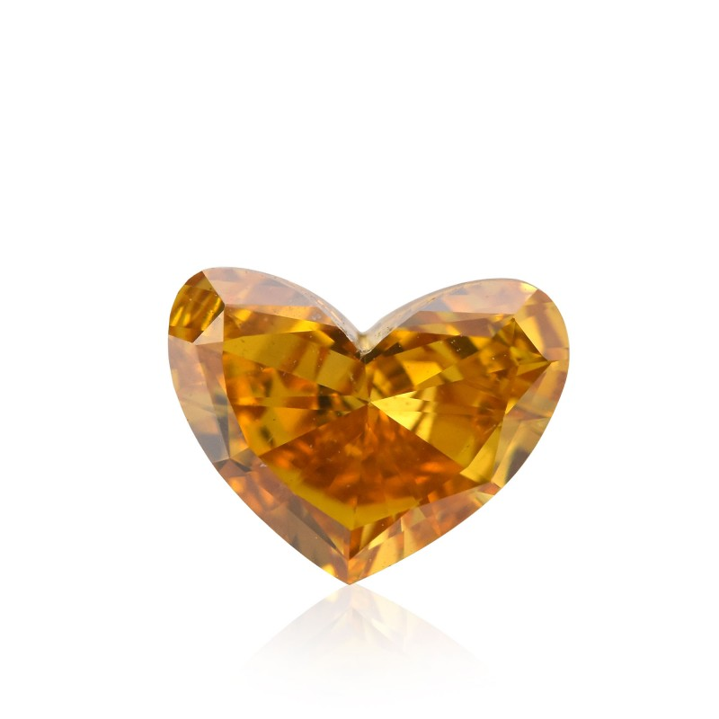 Orange Heart Diamond