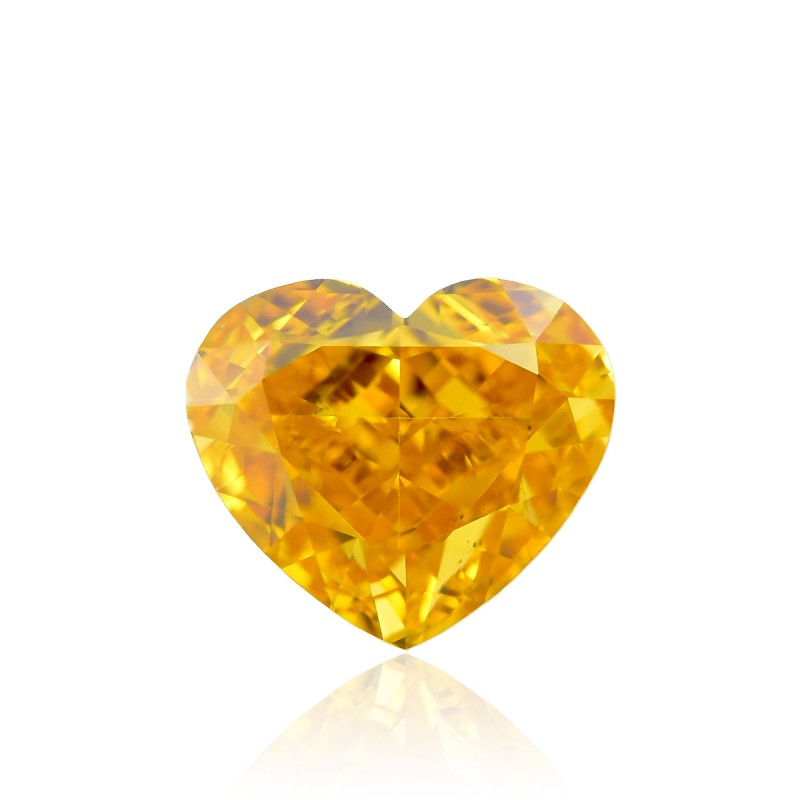 Orange Heart Diamond
