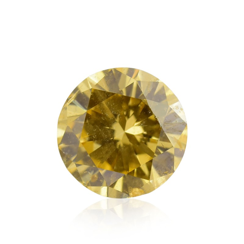 Fancy Brownish Orangy Yellow Diamond