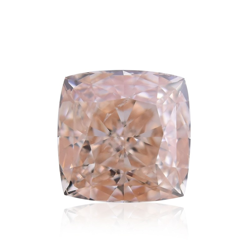 Fancy Brownish Orange Pink Diamond