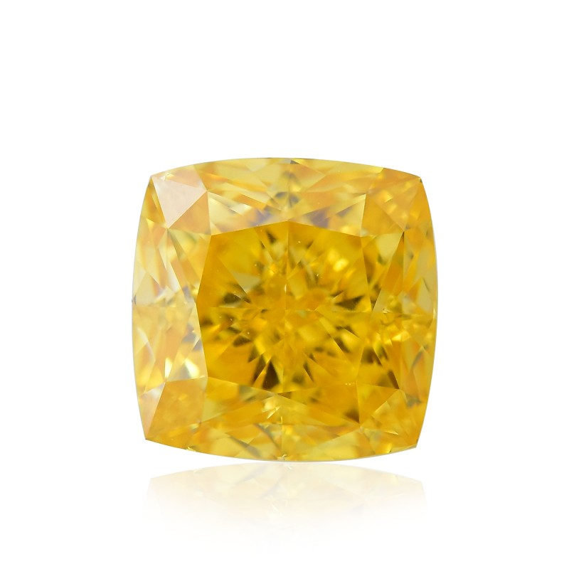 Fancy Vivid Orange Yellow Diamond