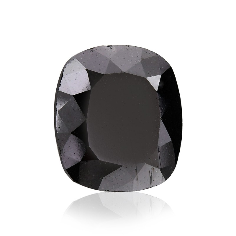 Black Cushion Diamond