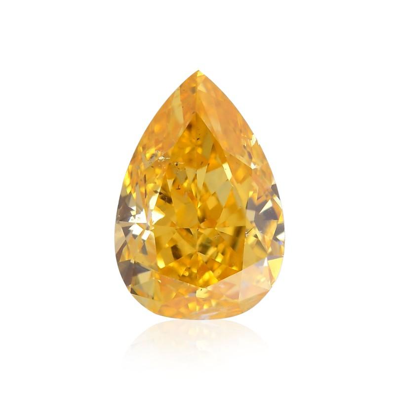 Fancy Intense Yellow Orange Diamond