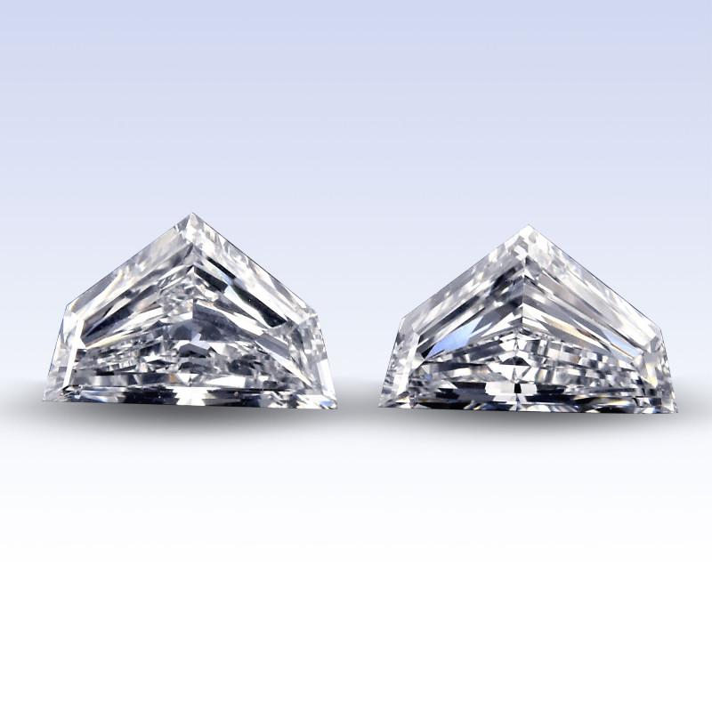 Colorless Shield Diamond