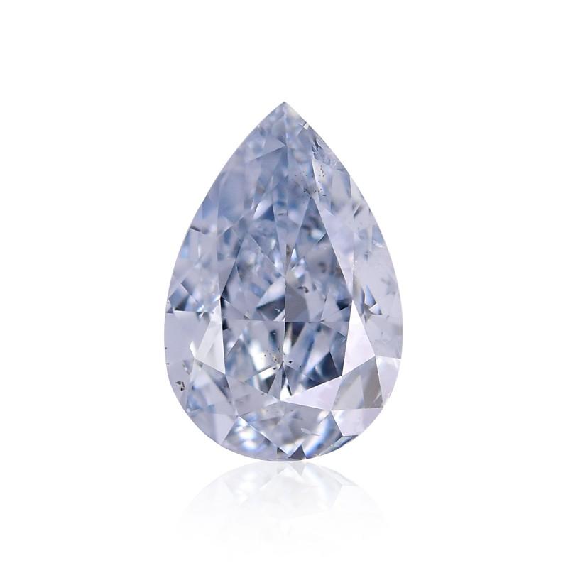 Blue Pear Diamond