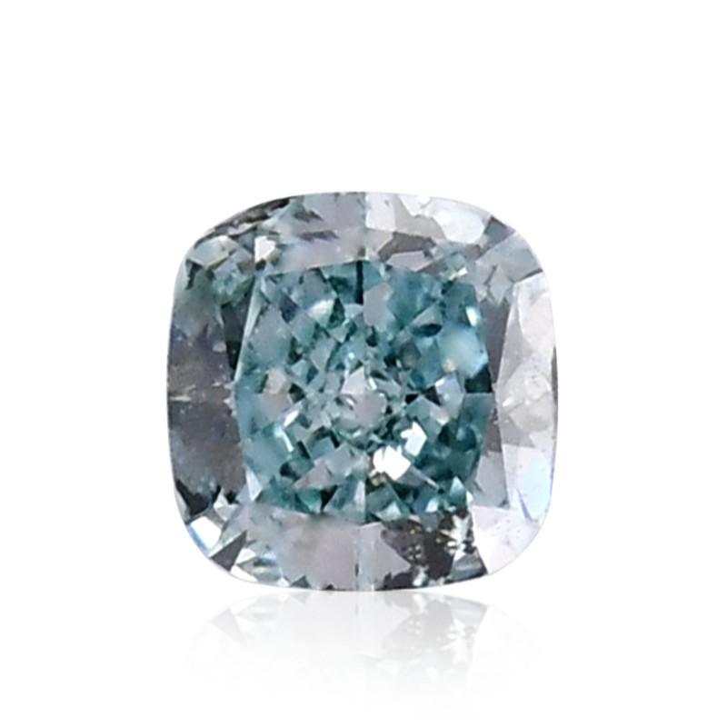 Green Cushion Diamond