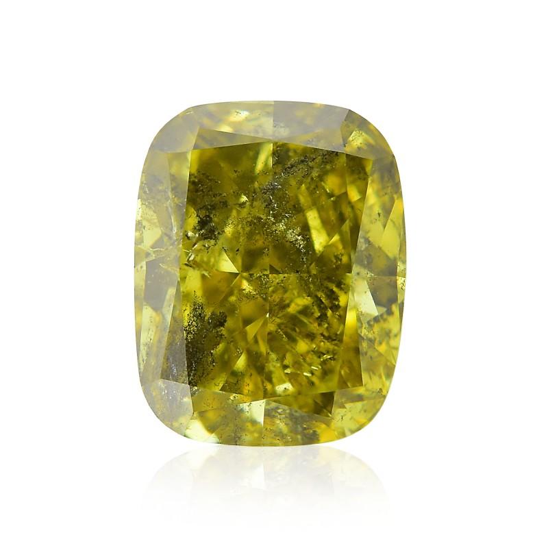 Fancy Deep Brownish Greenish Yellow Diamond