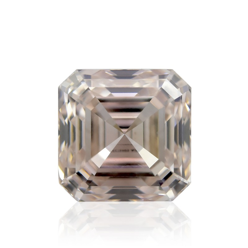 Champagne Asscher Diamond