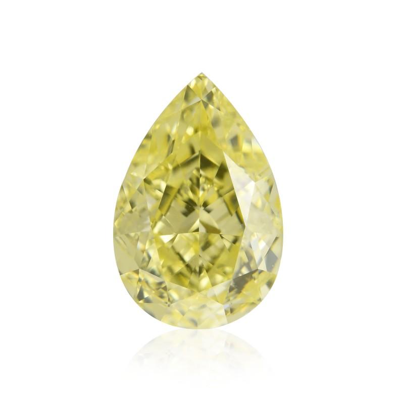 Yellow Pear Diamond