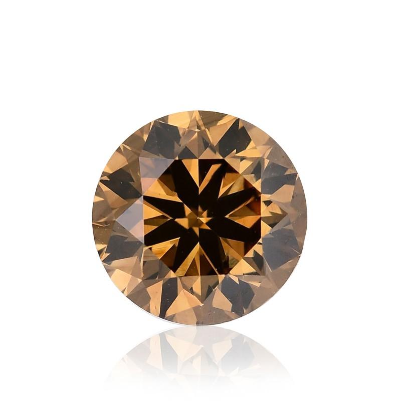 Fancy Dark Yellowish Champagne Diamond