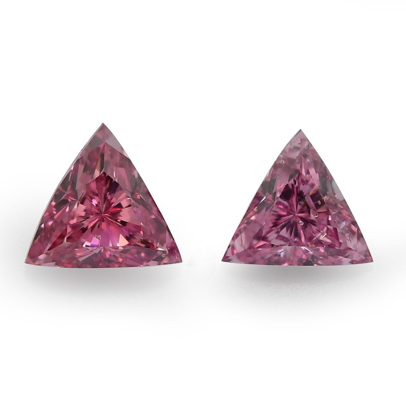 Pink Triangle Diamond