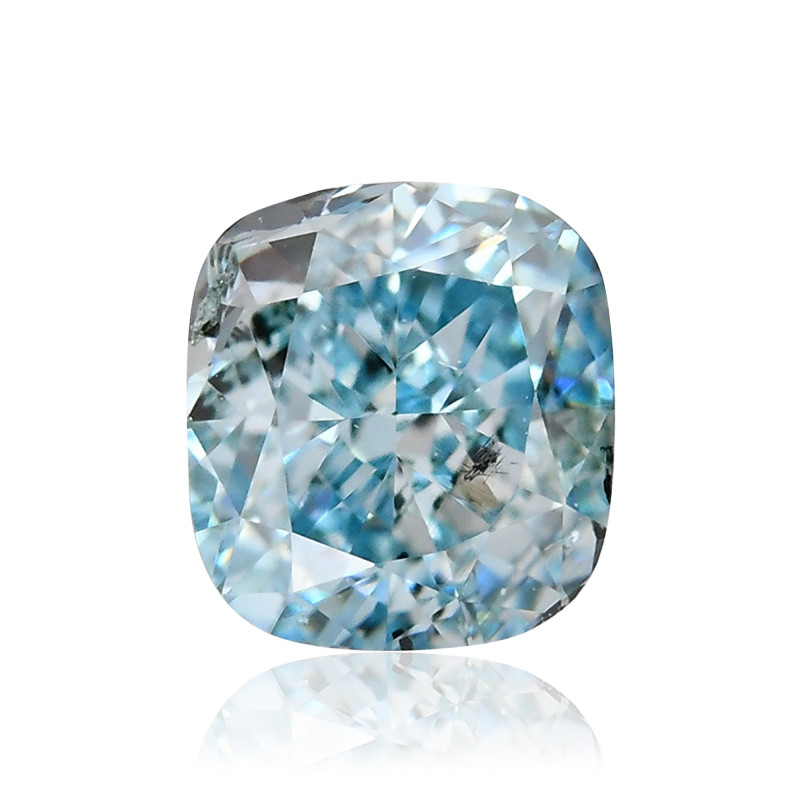 Fancy Intense Green Blue Diamond