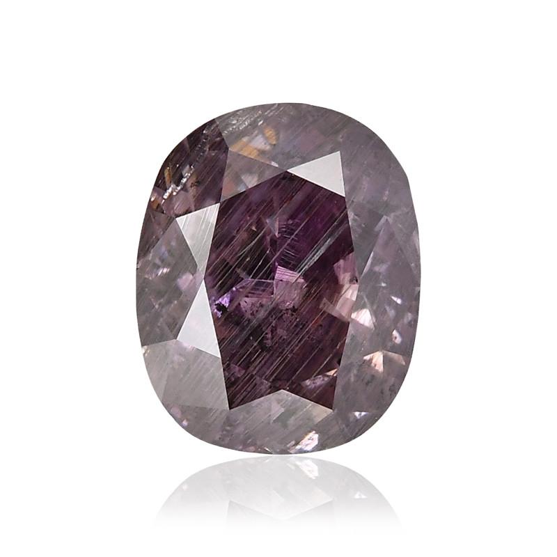 Fancy Dark Brown Purple Diamond